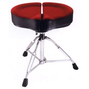 STABLE DT-907R Ergonomic Drum throne red