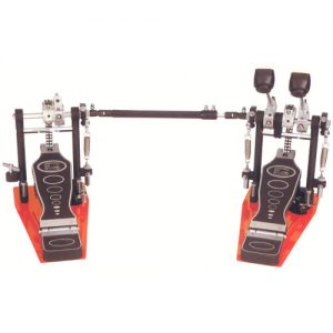 STABLE PD222A Double bass drum pedal double chain & 2 footplates