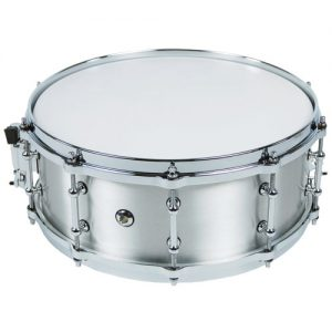STABLE SD502 Snare solid aluminum 14x5 with die-cast hoops