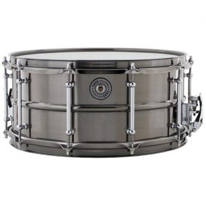 TAYE BBS1465 Brass snare drum 14x6.5' Black Nickel