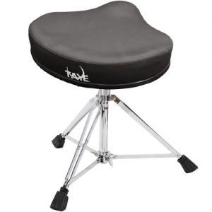 TAYE DT670 Drum throne w/spindle soft brushed vinyl covered saddle seat