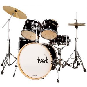 TAYE SL522J/JB Spotlight drum kit. Jet Black. incl. 4000-series hardware set