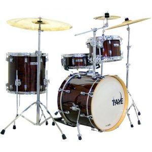 TAYE SM418BPSPK/DW Studio Maple Shell Set. Dark Walnut