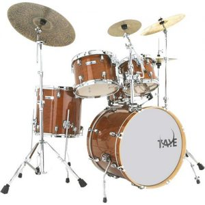TAYE SM522S-SPK/GA Studio Maple Shell Set. Golden Amber