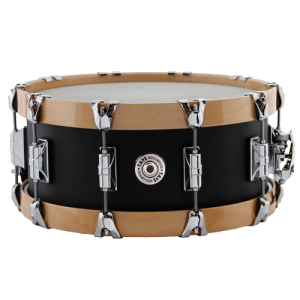 TAYE 1406SWN-AL Aluminium snare drum 14x06'. Natural Wood Hoops