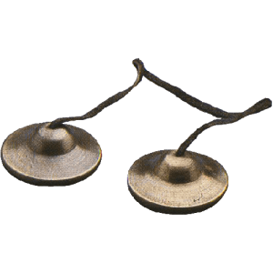 GO Percussion Thai Crotales. 6 cm. pair
