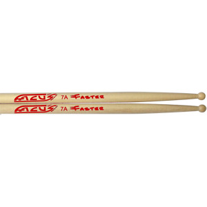 FACUS Drumsticks 7A faster ronde houten tip
